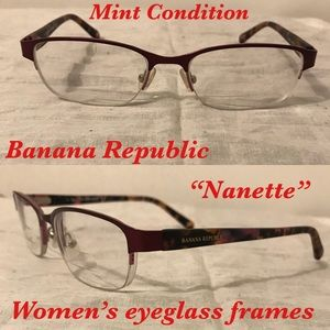 Banana Republic women's eyeglass frames